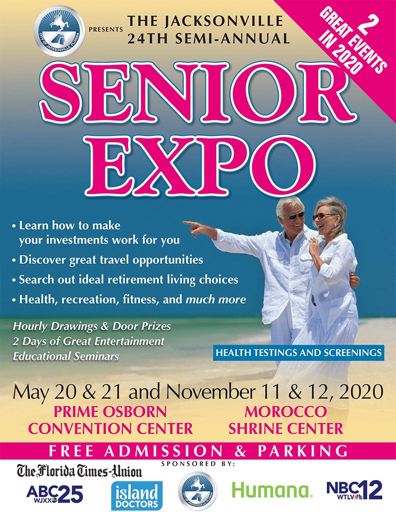 23rd Semi-annual Senior Expo in Jacksonville Florida